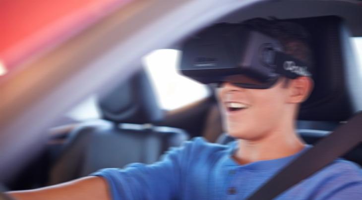 gefahrloses Steuern mit VR